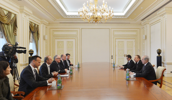 Azerbaijani president receives delegation headed by Dutch foreign minister - Gallery Image
