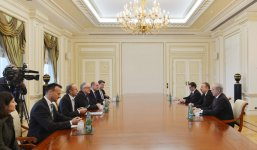 Azerbaijani president receives delegation headed by Dutch foreign minister - Gallery Thumbnail