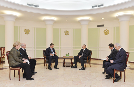 Azerbaijani President meets Lithuanian Prime Minister in Sochi (PHOTO) - Gallery Image