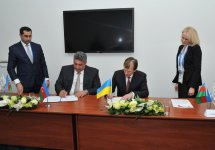 Azerbaijan, Ukraine sign deal on cooperation in sport and Olympic movement in Sochi (PHOTO) - Gallery Thumbnail