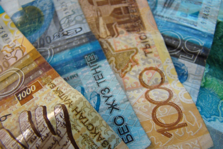 Kazakh national bank looks to stabilize local currency's rate