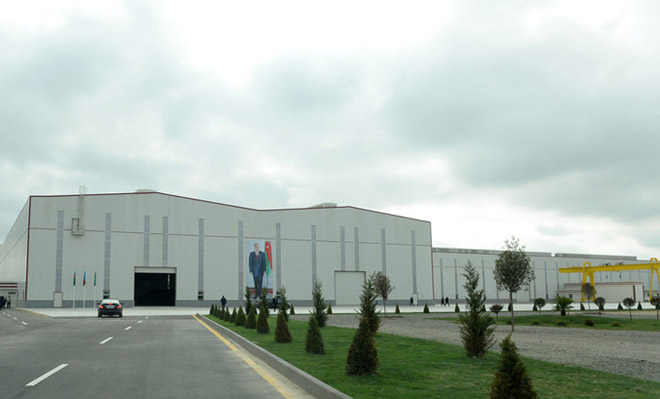 Swiss company becomes Azerbaijani Sumgait Chemical Park's resident