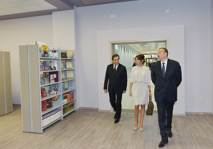 President Aliyev and his spouse attend opening of new Azerbaijan National Conservatory