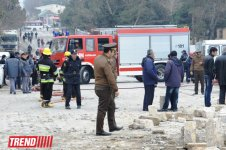 Explosion in unfinished building in Baku, injuries reported (UPDATE) (PHOTO) - Gallery Thumbnail