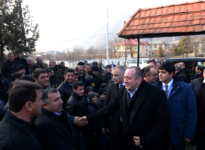 Georgian President visits Azerbaijan`s Gakh District (PHOTO) - Gallery Image