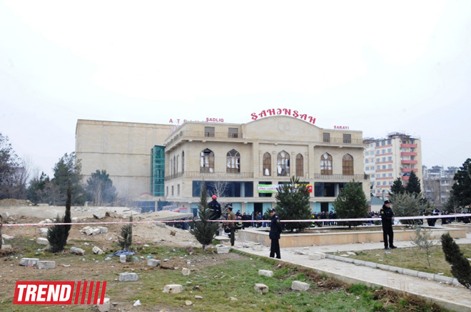 Explosion in unfinished building in Baku, injuries reported (UPDATE) (PHOTO) - Gallery Image