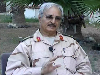 Haftar calls for crisis government in Libya