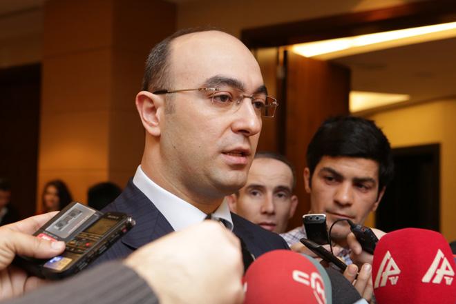 """В Баку проходит международная конференция """"Азербайджан-Грузия-Турция: трехсторонний союз и будущее региональной политики"""" - Gallery Image"""