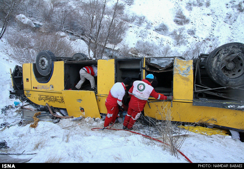 Death toll in bus accident in Iran rises to 20 (PHOTO) - Gallery Image