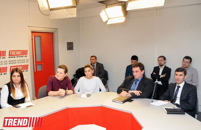 U.S. ambassador to Azerbaijan meets Trend agency's English news service (PHOTO) - Gallery Image