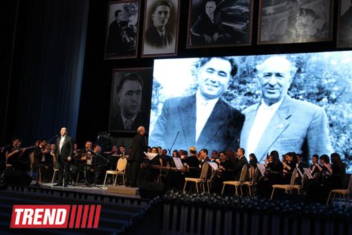 В Баку прошел театрализованный юбилейный вечер композитора Сулеймана Алескерова (ФОТО) - Gallery Image