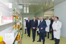 President Ilham Aliyev opens new facilities in Sumgayit (PHOTO) - Gallery Thumbnail