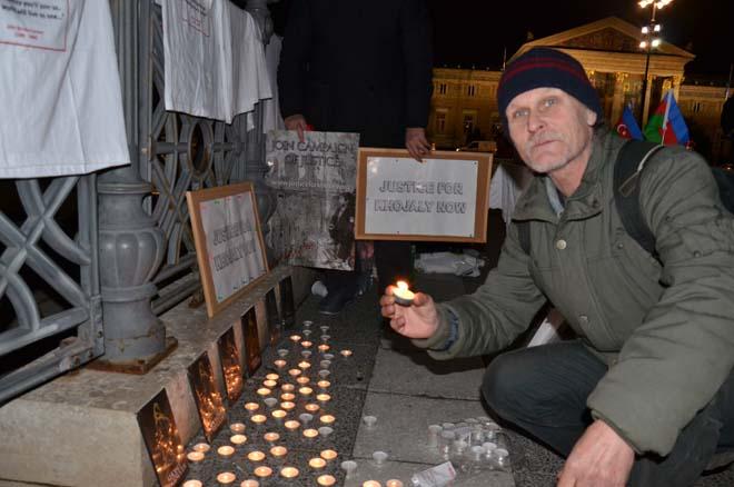 В Будапеште прошла акция, посвященная 22-й годовщине Ходжалинского геноцида (ФОТО) - Gallery Image