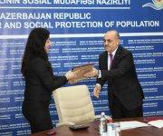 В Азербайджане началась выдача аккредитаций частным центрам помощи жертвам бытового насилия (ФОТО) - Gallery Thumbnail