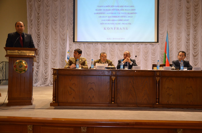 Azerbaijani youth organisations' union, Emergency Situations Ministry hold conference