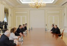 President Ilham Aliyev receives Executive Director of American Jewish Committee - Gallery Thumbnail