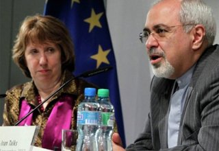 Iranian FM, EU foreign policy chief End Meeting in Vienna