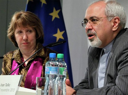 Zarif, Ashton discuss unofficially in Istanbul