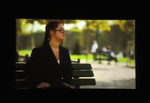 На Творческой сцене «ÜNS» состоялась презентация фильма, повествующего о необычном творческом мире талантливого художника Марьям Алекберли (ФОТО) - Gallery Thumbnail