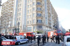 Several people injured in fire-affected large shopping center in Baku (UPDATE-4) - Gallery Thumbnail