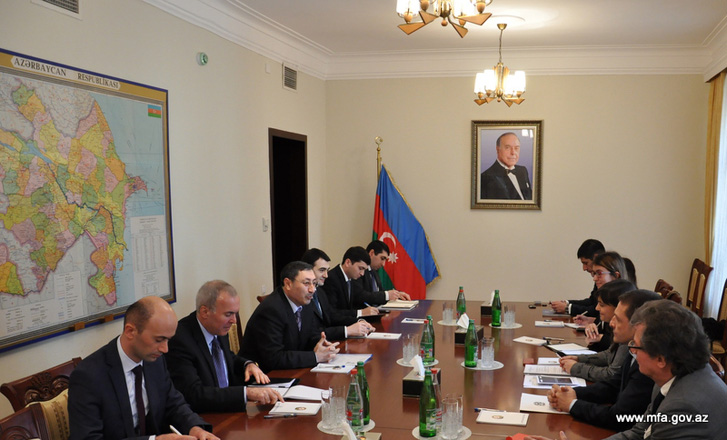 Azerbaijan interested in expanding cooperation with Italy's regions (PHOTO)