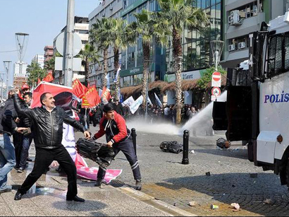 140 people detained during May Day rally in Istanbul