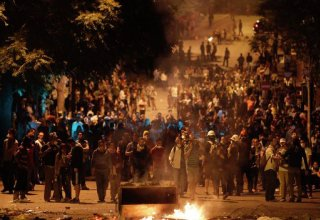 Turkish interior ministry urges to cease protests