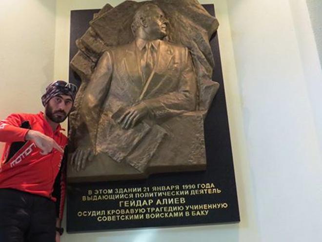 Велопутешественник Рамиль Зиядов из Твери направляется в Санкт-Петербург (ФОТО) - Gallery Image