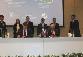 Azerbaijan and Russia's Stavropol sign series of agreements