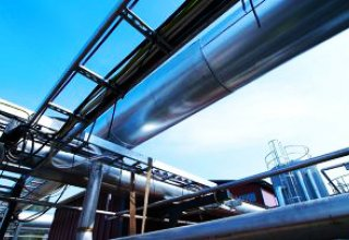 Pipelines for natural gas delivery installed at Uzbekistan's oil and gas production department