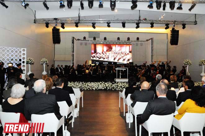 В Центре Гейдара Алиева  состоялась презентация книги немецкого композитора  Рихарда Вагнера «Моя жизнь» (ФОТО) - Gallery Image