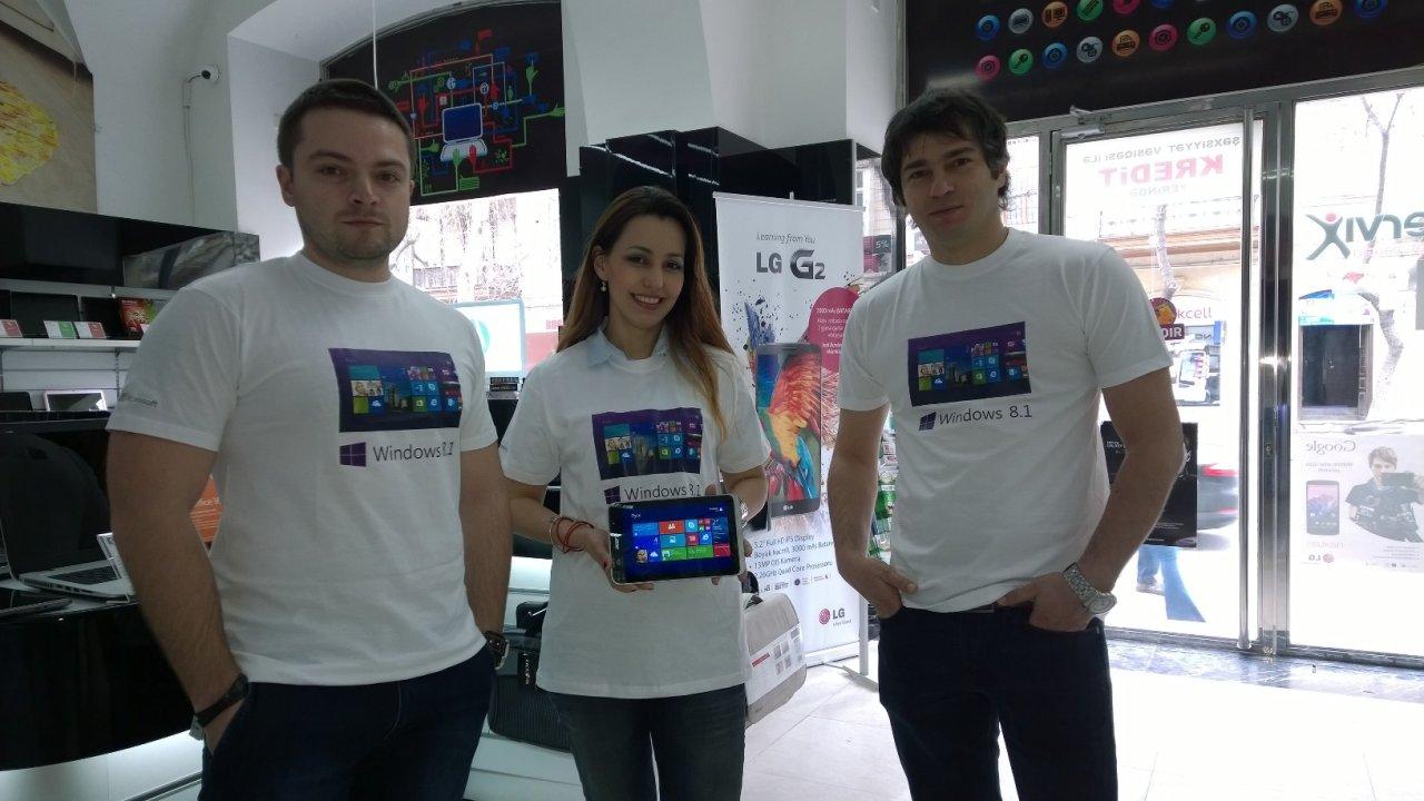Сотрудники Microsoft Azerbaijan выступили в роли продавцов-консультантов