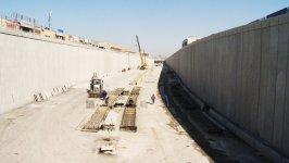 Оглашены сроки сдачи в эксплуатацию путепровода туннельного типа на одном из проспектов Баку (ФОТО) - Gallery Thumbnail