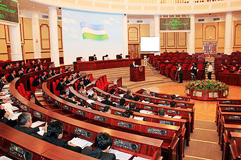 Uzbek parties create factions in parliament of new convocation