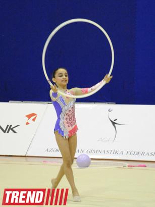 В столице состоялось 21-е первенство Баку по художественной гимнастике (ФОТО) - Gallery Image