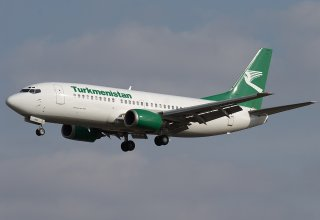 Turkmenistan Airlines suspends flights to China