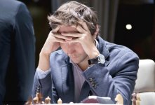 """Фоторепортаж с третьего тура международного шахматного турнира """"Shamkir Chess 2014"""" - Gallery Thumbnail"""