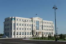 Ilham Aliyev attends opening of new building of Agdash District Executive Authority - Gallery Thumbnail