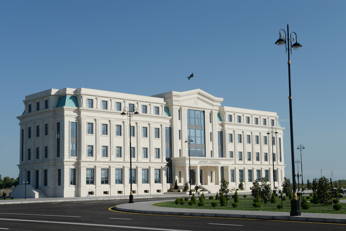Ilham Aliyev attends opening of new building of Agdash District Executive Authority - Gallery Image