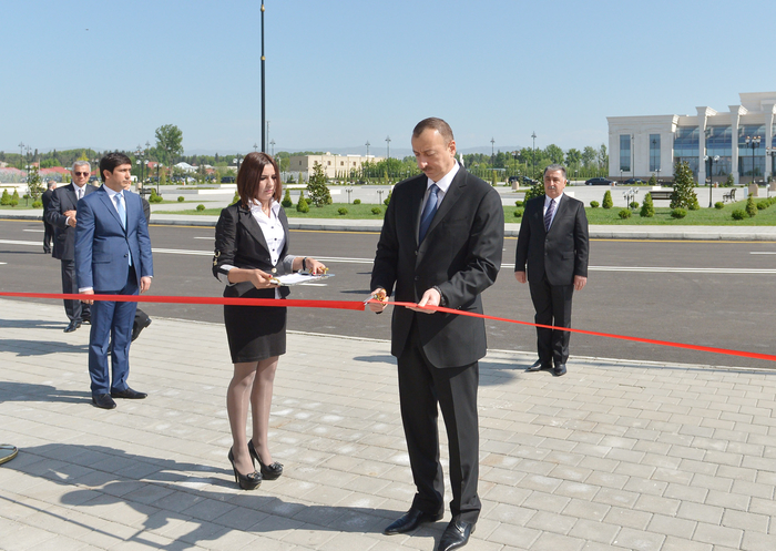 New office building of Agdash district branch of New Azerbaijan Party commissioned