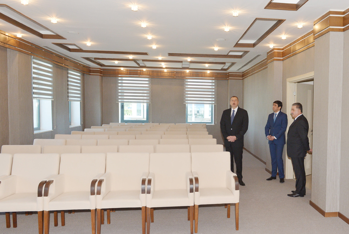 New office building of Agdash district branch of New Azerbaijan Party commissioned - Gallery Image