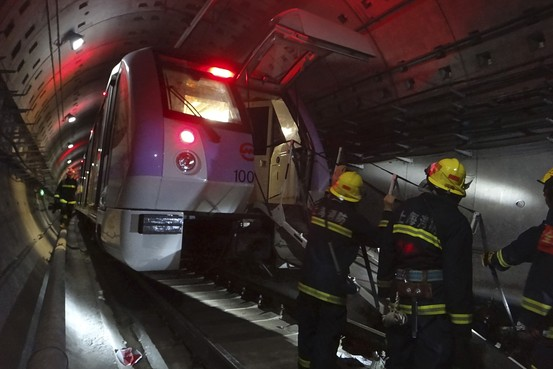 At least one dead, dozens injured in Mexico City metro crash