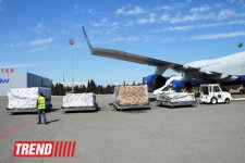 Azerbaijan sends humanitarian aid to people in Afghanistan (PHOTO) - Gallery Thumbnail