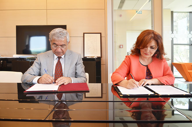 ADA University, Turkish Giresun University sign cooperation memorandum (PHOTO) - Gallery Image