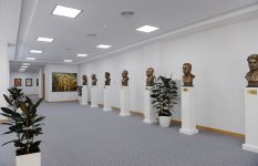 Azerbaijani president opens new building of ANAS' Central Library (PHOTO) - Gallery Thumbnail
