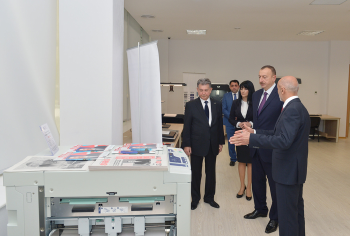 Azerbaijani president opens new building of ANAS' Central Library (PHOTO) - Gallery Image
