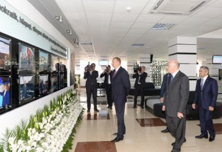 "Ilham Aliyev attended the opening of the Baku Center ""ASAN Xidmət"" No 4 (PHOTO)"