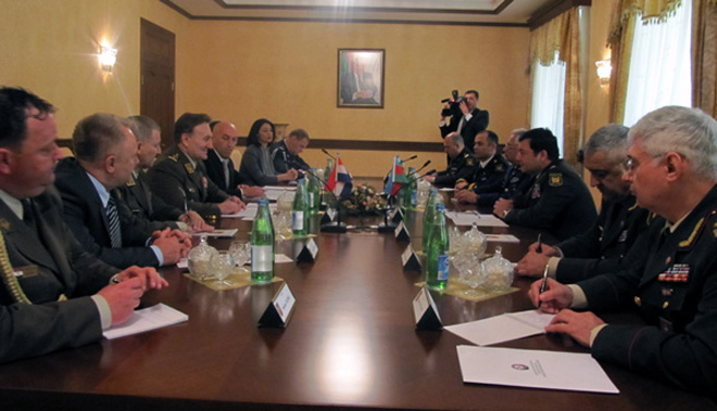 Azerbaijan, Croatia discuss military and technical cooperation - Gallery Image