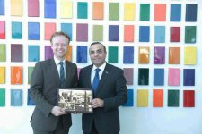 Азербайджанский депутат провел встречи в Бундестаге (ФОТО) - Gallery Thumbnail