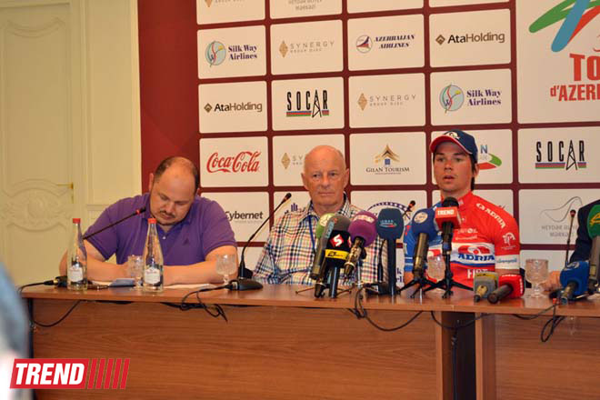 Tour d'Azerbaidjan-2014 Stage 2 winner announced (PHOTO) - Gallery Image